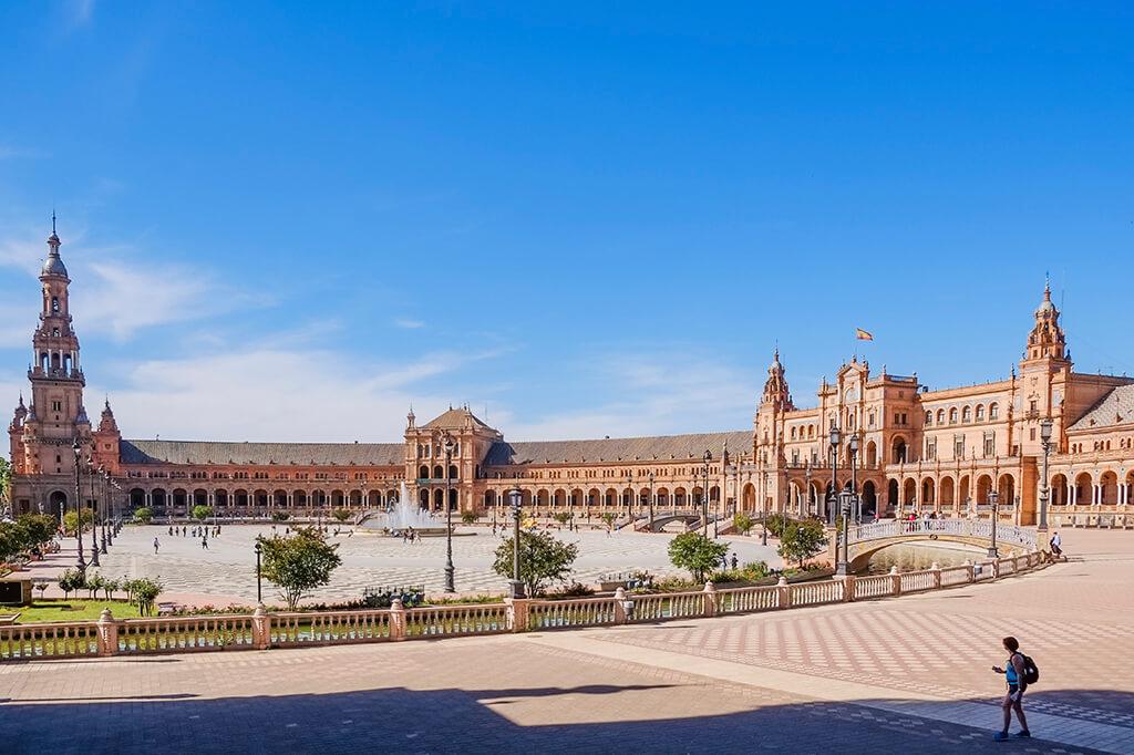 Площадь Испании - Севилья