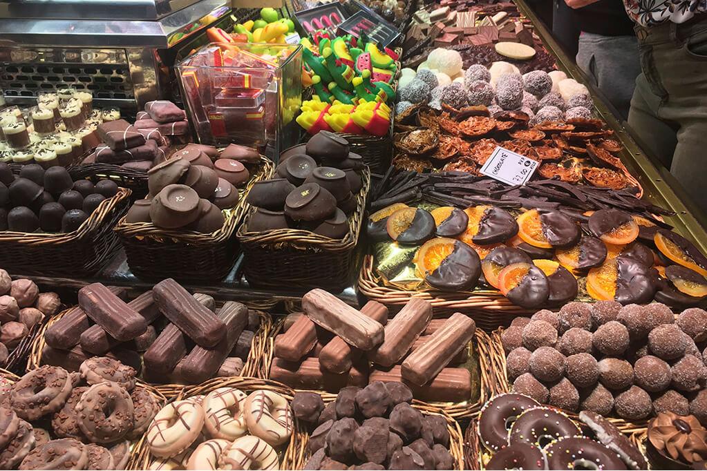 Бокерия - рынки Барселоны