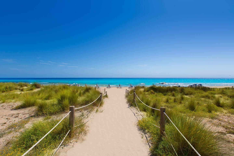 Менорка - пляжи