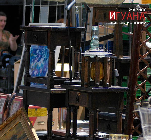 Рынки Барселоны Els Encants Vells