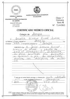 Медицинский сертификат для прав