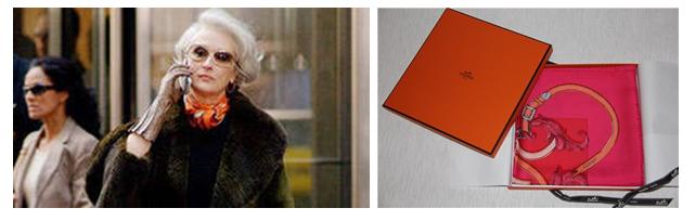 Миранда Пристли из нашумевшего фильма «Дьявол носит Prada»